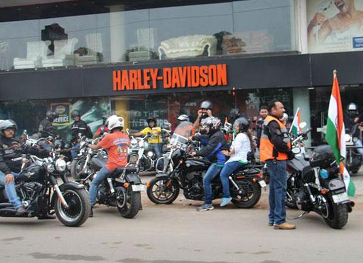 Harley Owners Group organises 'Freedom Ride'